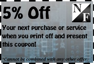 N&F Computers in Clarksville, TN - 5% Off coupon